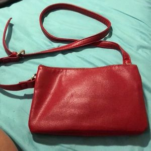 Red Crossbody Purse.